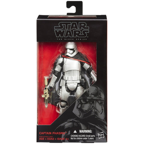 Star Wars: The Force Awakens Black Series 6 Inch Captain Phasma - ToyThug