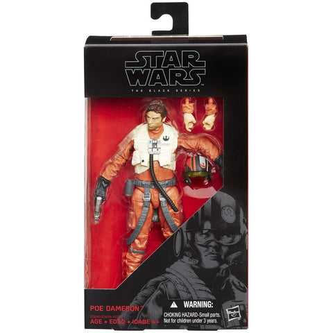 Star Wars: The Force Awakens Black Series 6 Inch Poe Dameron - ToyThug