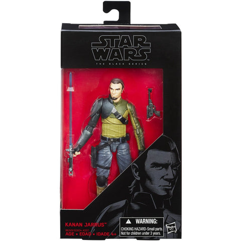 Star Wars: Rebels Black Series 6 Inch Kanan Jarrus