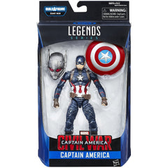 Marvel 6-Inch Legends Series Captain America Figure - ToyThug