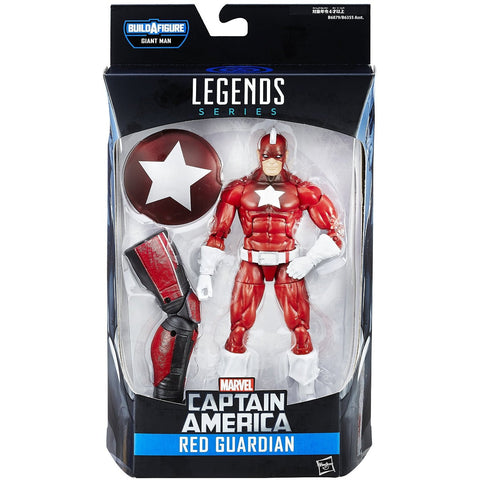 Marvel 6-Inch Legends Series Red Guardian Figure - ToyThug
