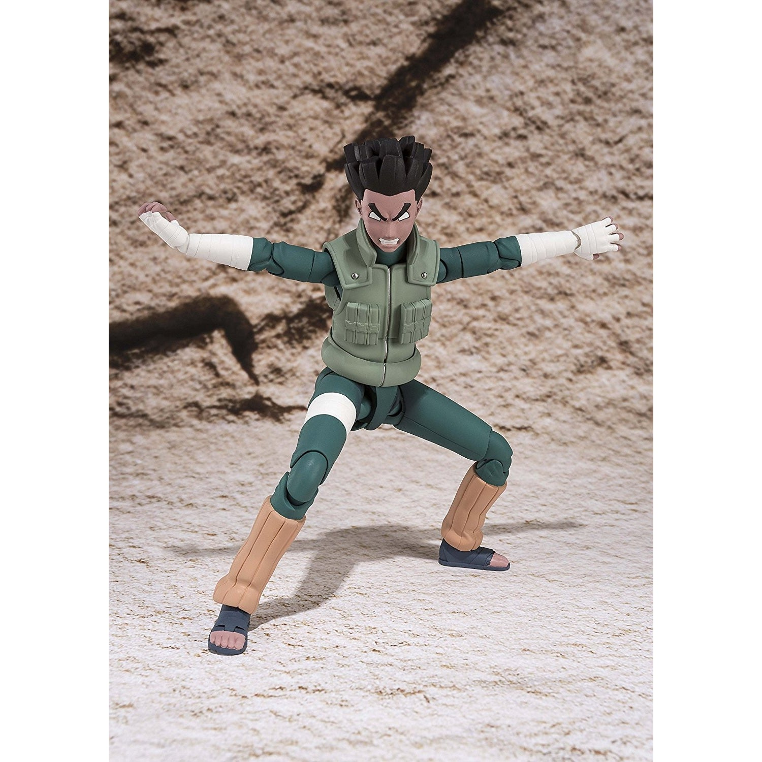 SH Figuarts Rock Lee of  Naruto Shippuden