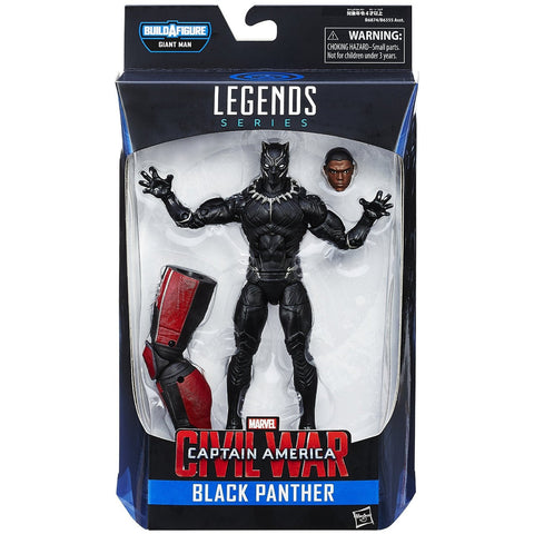 Marvel 6-Inch Legends Series Black Panther Figure - ToyThug