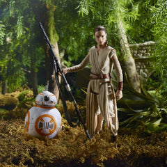 Star Wars: The Force Awakens, Takodana Encounter 3.75 Inch Action Figure Set [Maz Kanata, Finn, Rey, and BB-8]