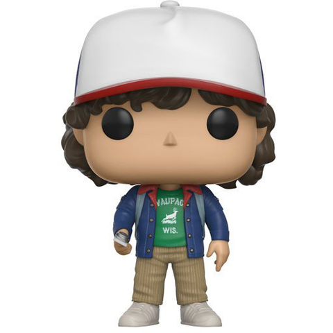 Lucas: Funko POP! x Stranger Things Vinyl Figure with Free Pop Protector