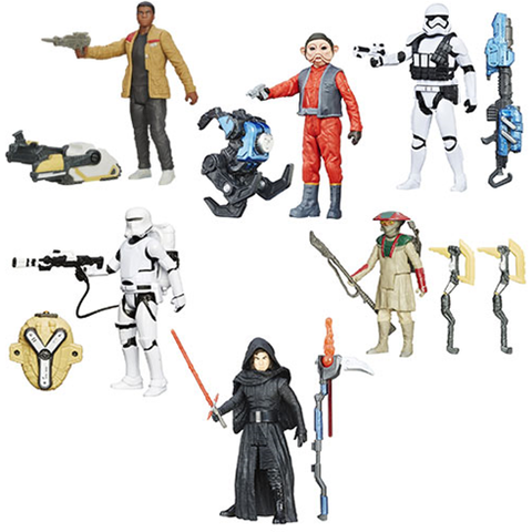 Star Wars: The Force Awakens 3 3/4-Inch Snow and Desert Action Figures Wave 5 Case
