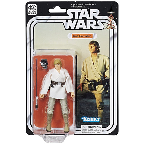 The Black Series 40th Anniversary 6-Inch Luke Skywalker