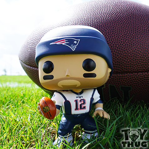 Funko POP NFL Tom Brady (White / Blue )