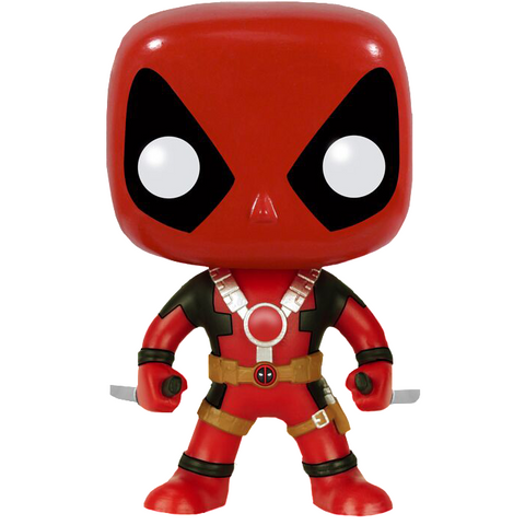 Funko POP! Marvel Deadpool Stingray and Slapstick Hot Topic Exclusive Mystery Limited Edition Orange and Yellow 2 Pack Bundle
