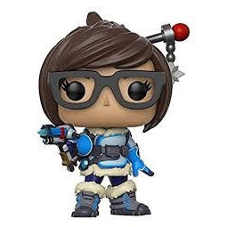 Funko Pop! Games: Overwatch Action Figure - Tracer with box protector!