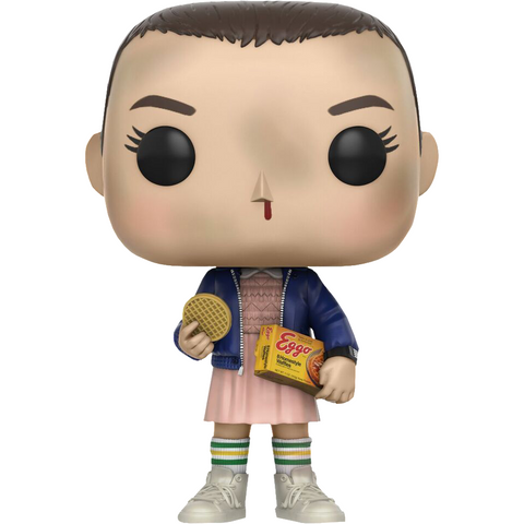 Eleven with Eggos: Funko POP! x Stranger Things Vinyl Figure