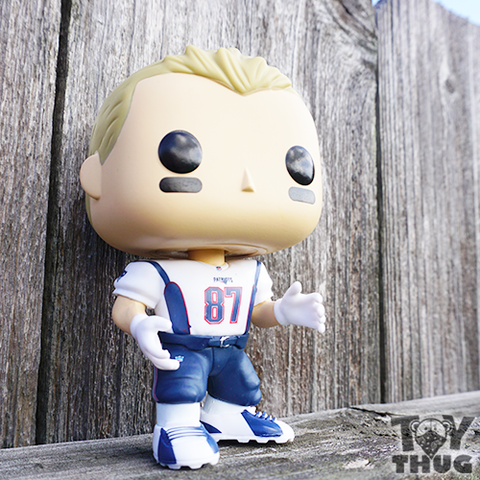 Funko POP NFL Rob Gronkowski (White / Blue)
