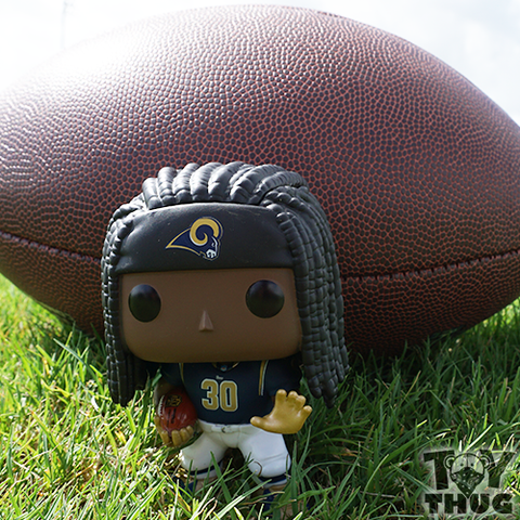 Funko POP NFL Todd Gurley (Blue / White)