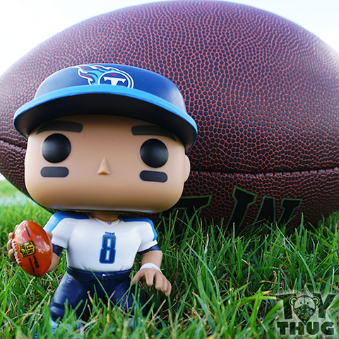 Funko POP NFL Cam Newton  (Black / Blue /Silver )