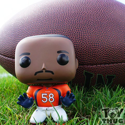 Funko POP NFL Von Miller (Orange / White)
