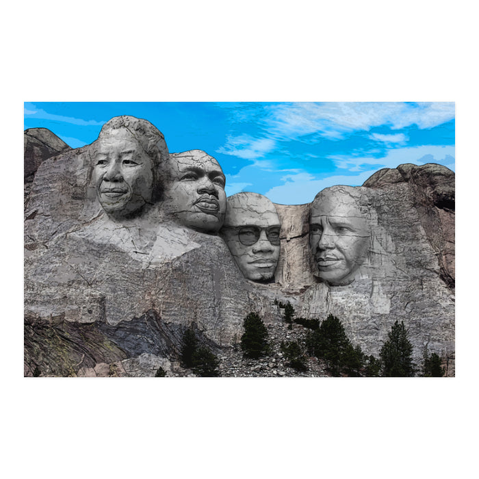 "Greatest Leaders Art 23"" x 36"" Poster (No Frame)"
