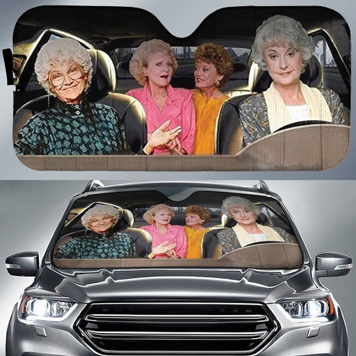 The Golden Girls Car Sunshade