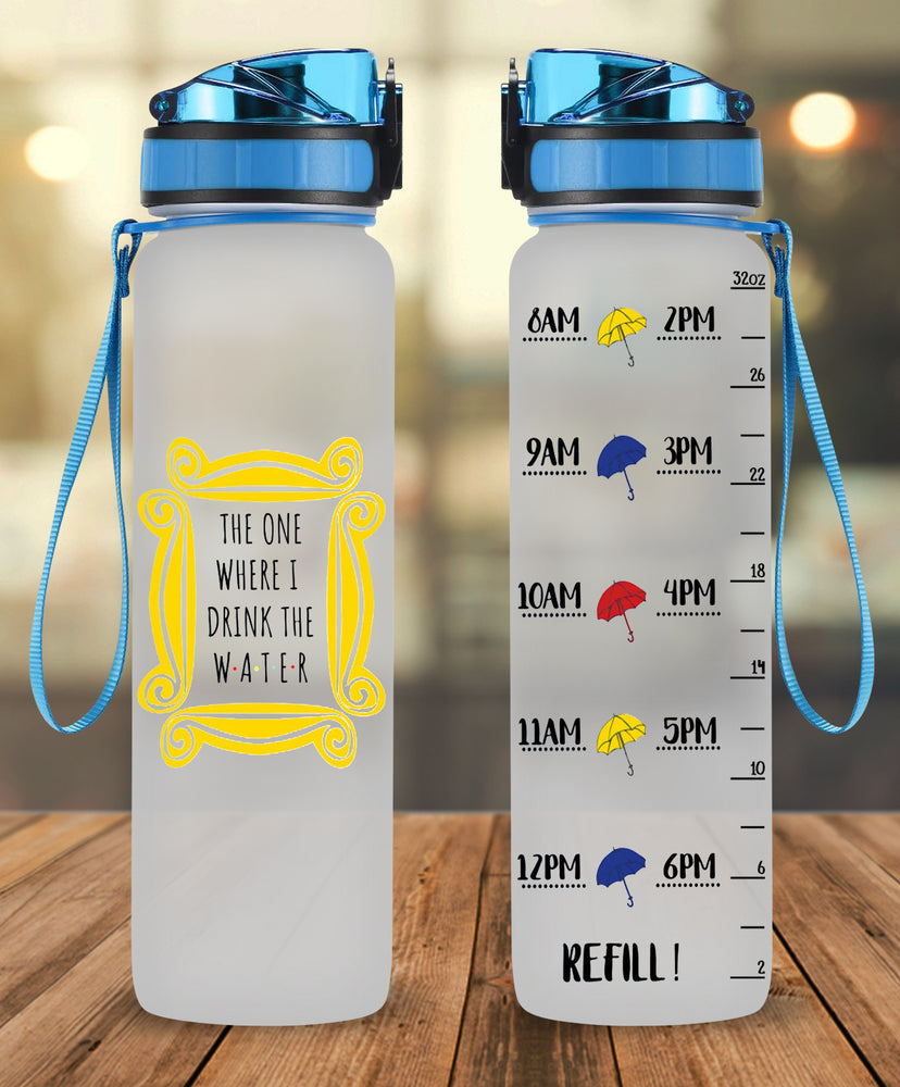 F.R.I.E.N.D.S Water Tracker Bottle