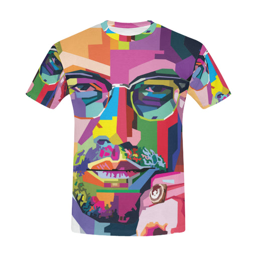 Malcolm X Art T-shirt