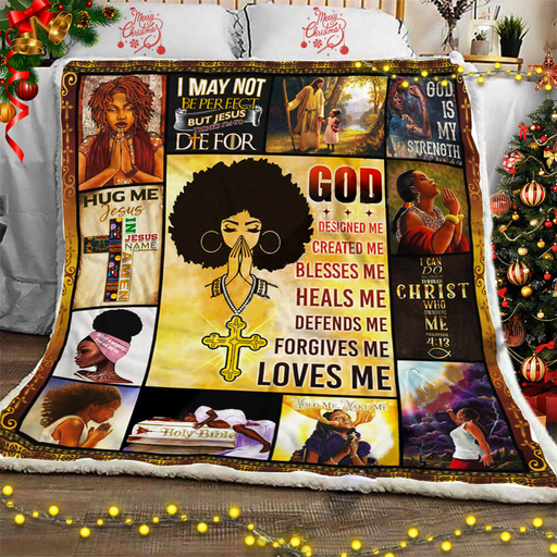 God Loves Me - Fleece Blanket