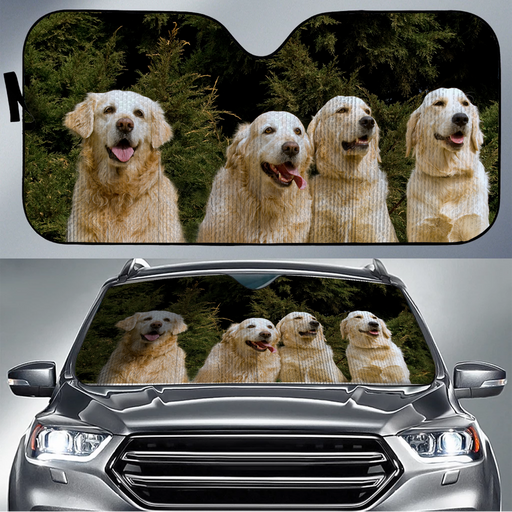 Golden Retriever Sun Shade