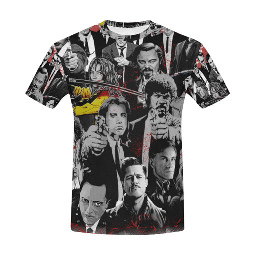 Quentin's Movies Characters Shirt for Men