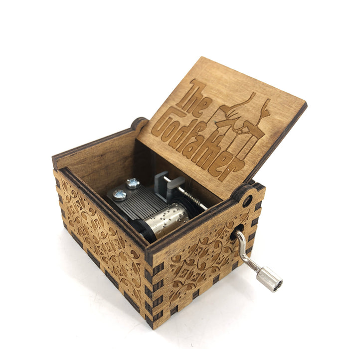 The Godfather Wooden  Music Box