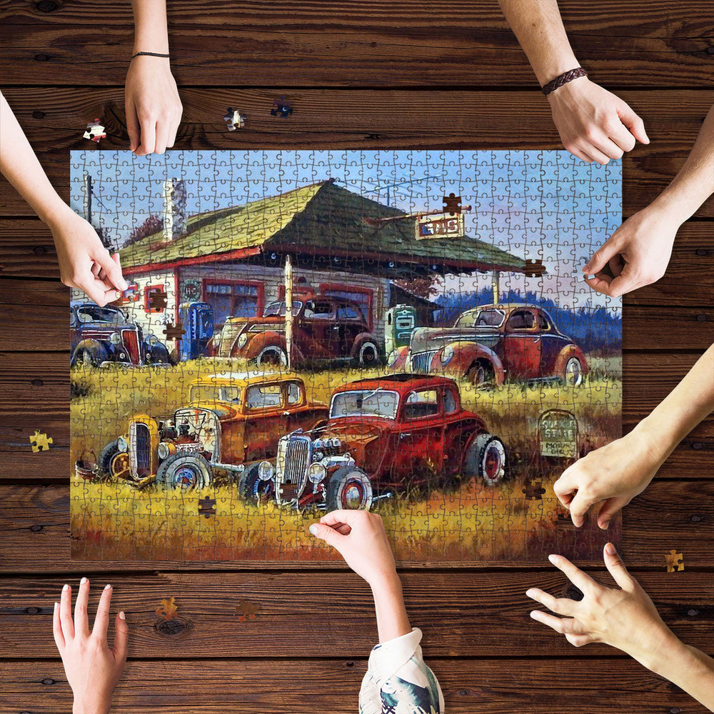 Country Highboy Jigsaw Puzzle