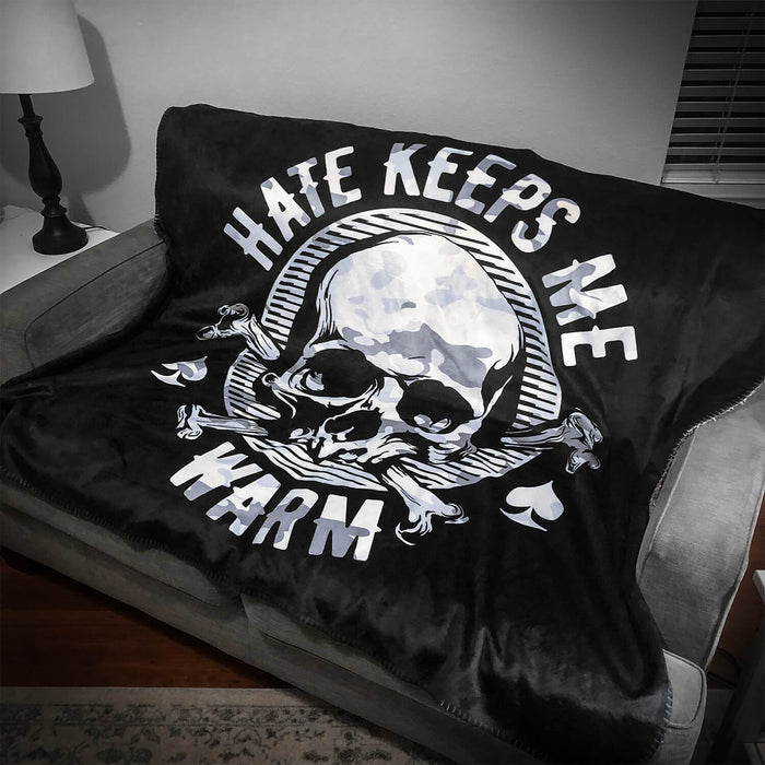 HATE FLEECE BLANKET