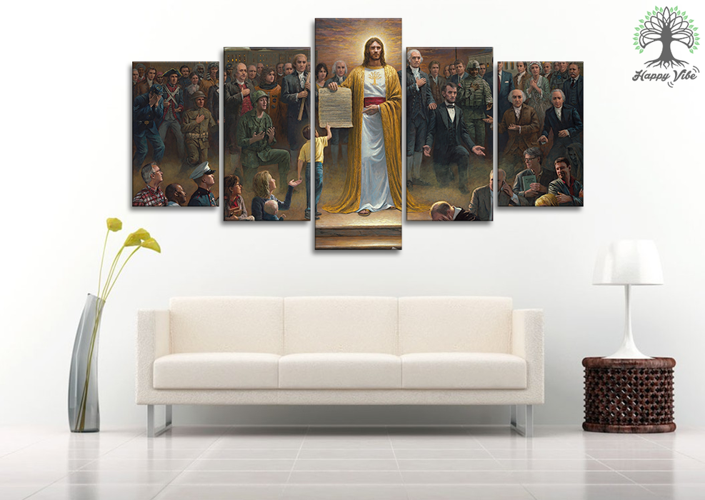 One nation under God Canvas Wall Art Prints