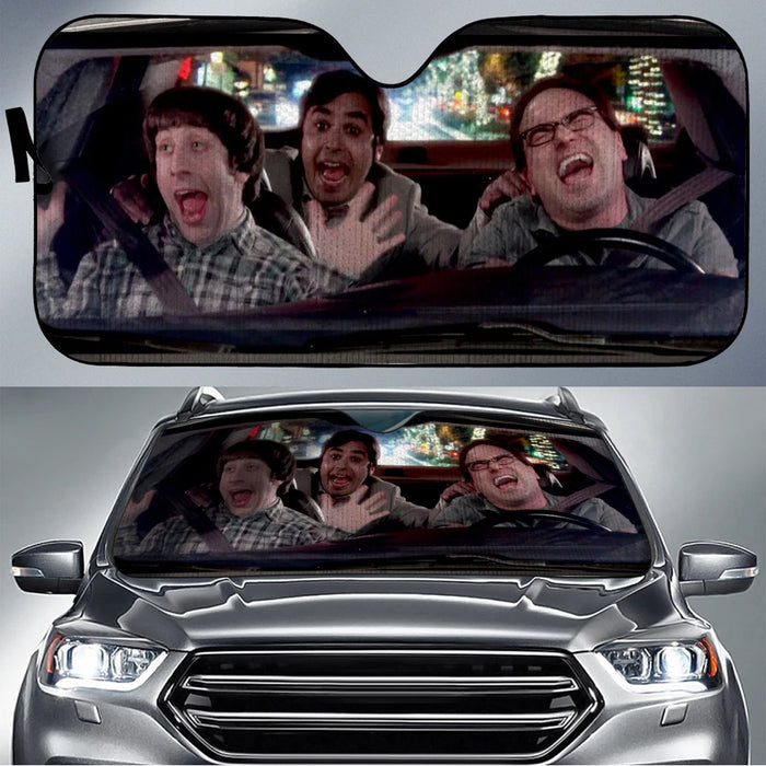 The Big Bang Theory Car Sunshade V1