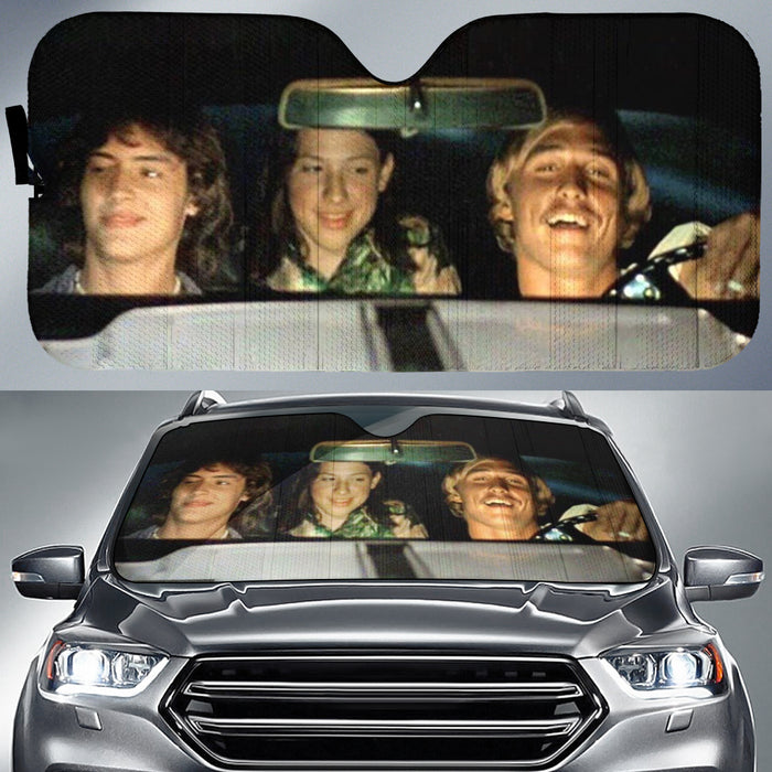 Dazed and Confused Car Sunshade