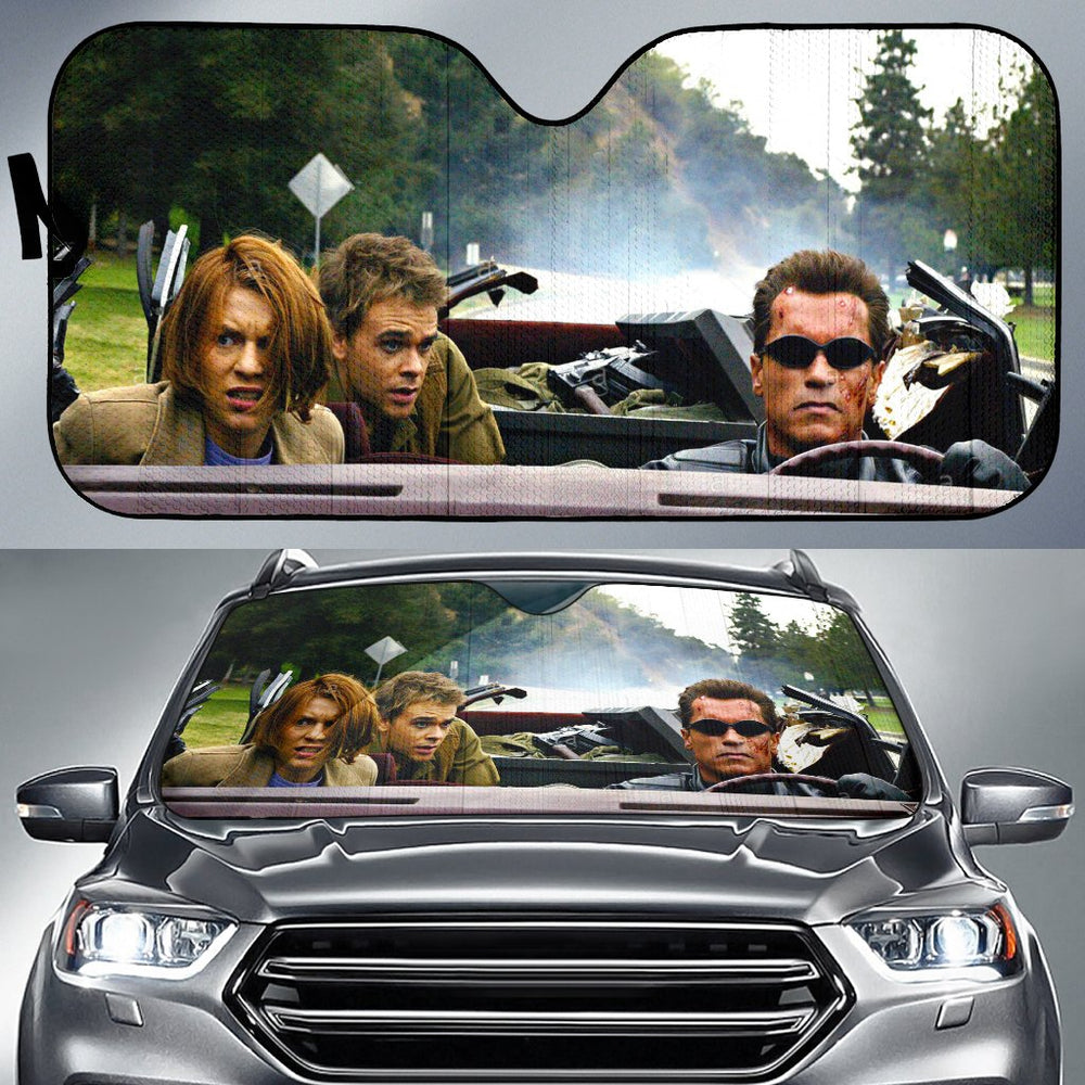 Terminator Car Sunshade