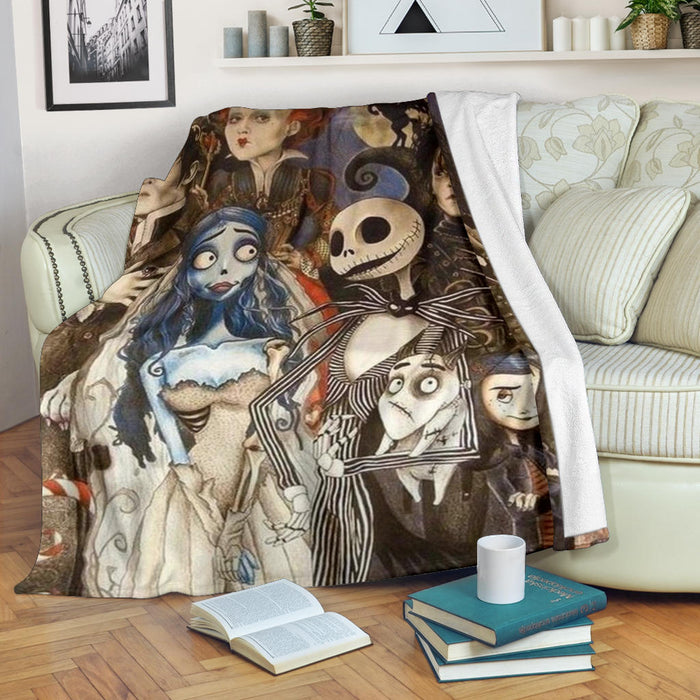 Tim Burton Collection Premium Blanket