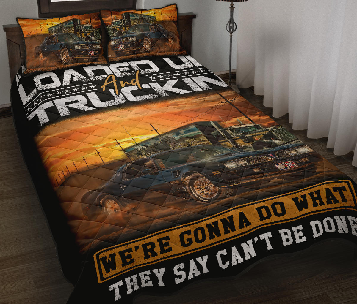 KW TRUCK QUILT BED SET