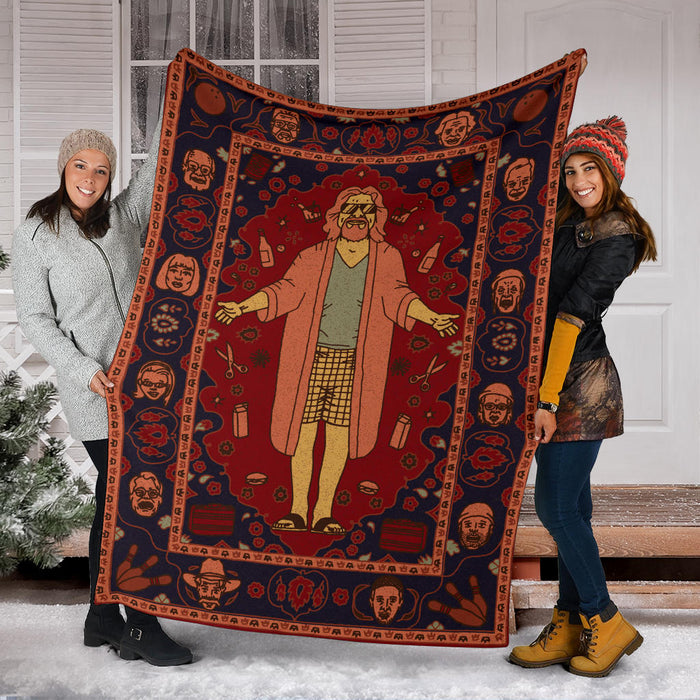 The Big Lebowski Blanket
