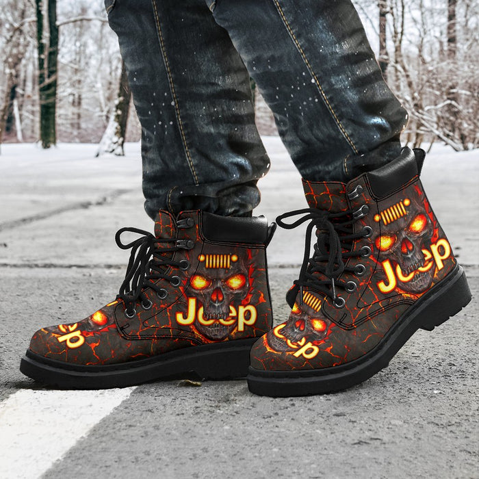 Lava JP Skull TDGTDG053 All-Season Boots