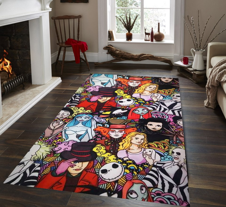 TIM BURTON COLLECTION AREA RUG