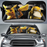 Pikachu And Koduck PAK Car Sunshade