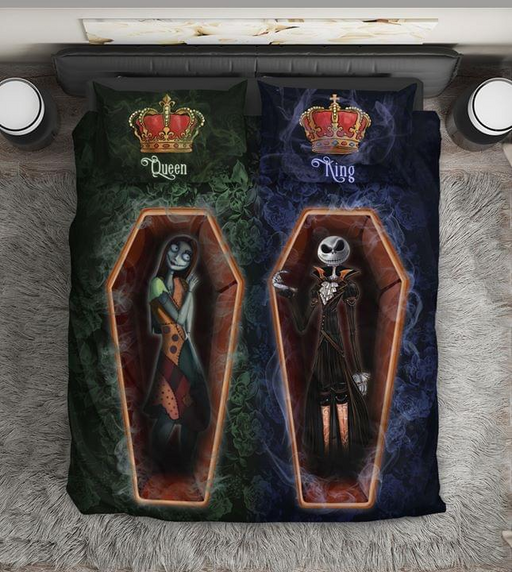 KING JACK AND QUEEN SALLY  BEDDING SET