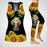 Sunflower Elephant Combo Tank Top And Legging