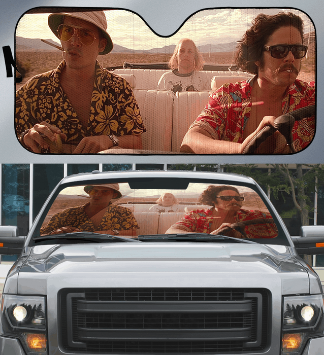 Fear and Loathing in Las Vegas Car Sunshade