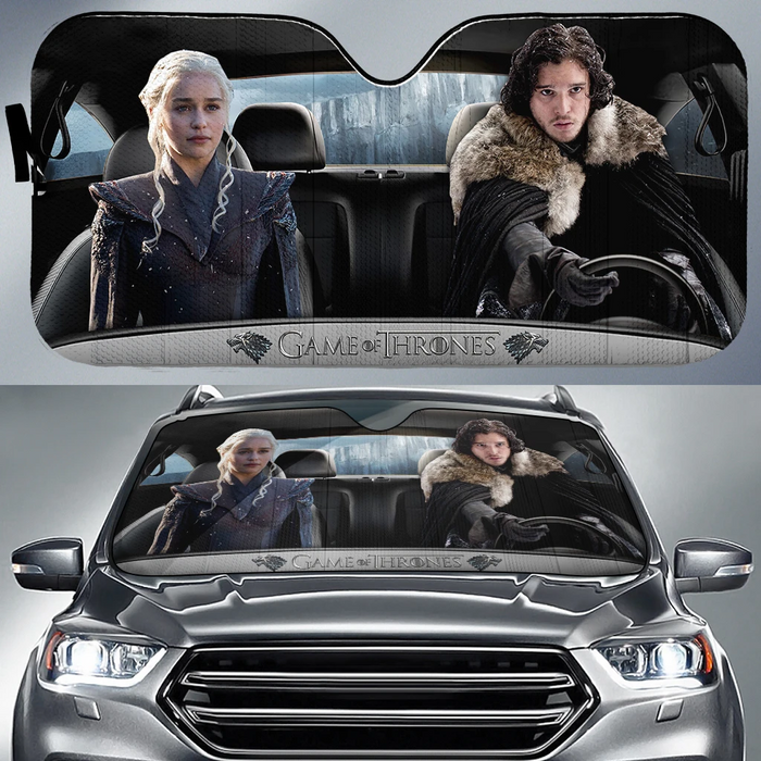 Game of Thrones Car Sunshade