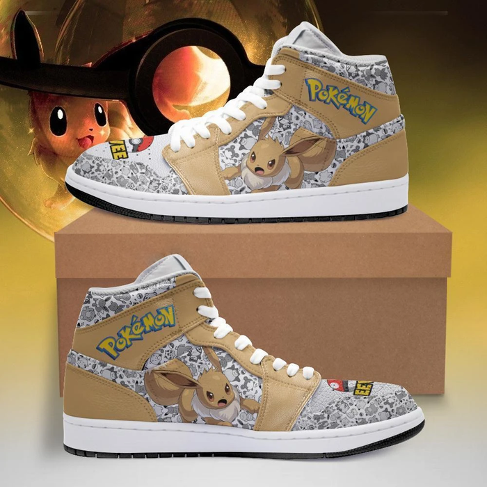 Eevee Shoes Boots Pokemon Sneakers
