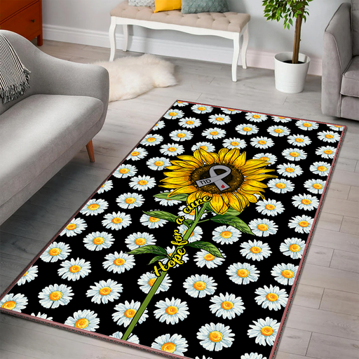 T1D Sunflower Area Rug