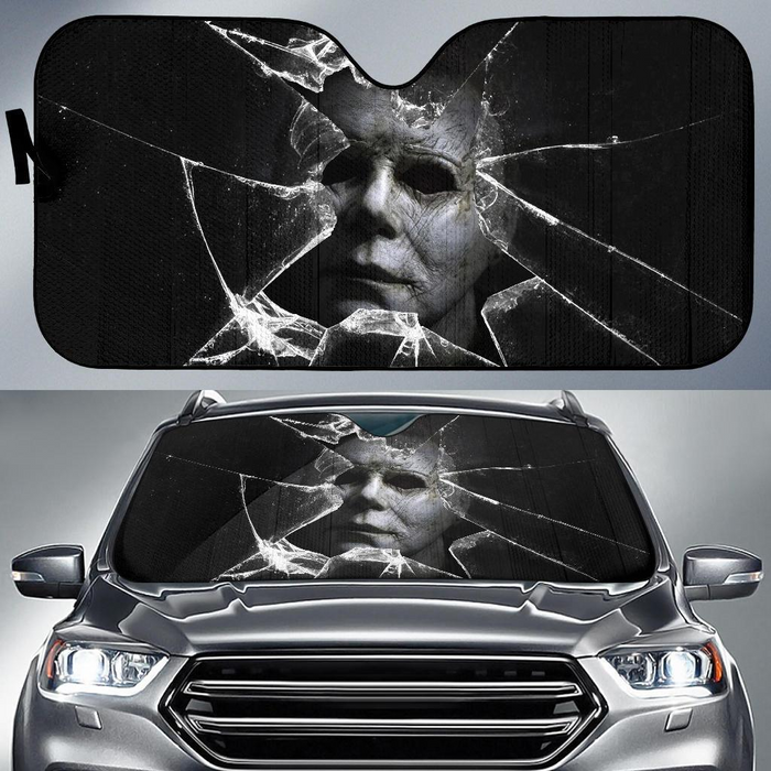 Michael Myers Car Sunshade