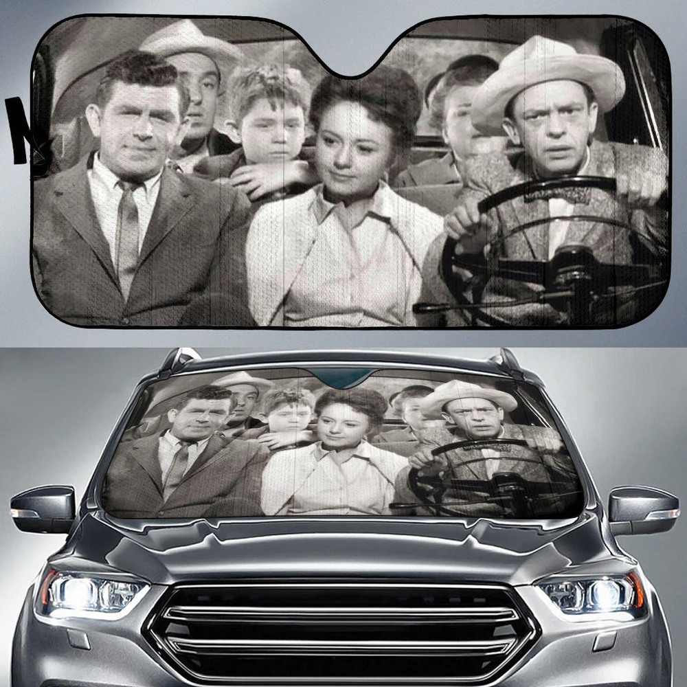 THE ANDY GRIFFITH SHOW CAR SUNSHADE