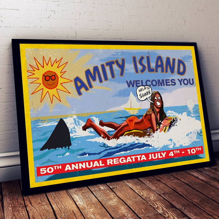 Amity Island Poster