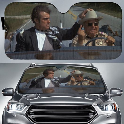 Smokey And The Bandit Car Sunshade