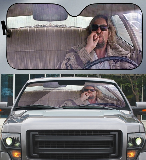 The Big Lebowski Car Sunshade